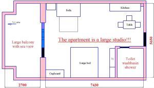Midia Apartment, Appartamenti  Aheloy - big - 12