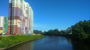Apartment by Ladozhsky station - Malaya Yablonovka