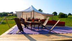 Location gîte, chambres d'hotes Tamana Tuquet Tentes Mauritannienne dans le département Dordogne 24