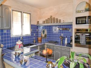 Three-Bedroom Holiday Home in Meounes Les Montrieux, Holiday homes  Méounes-lès-Montrieux - big - 22