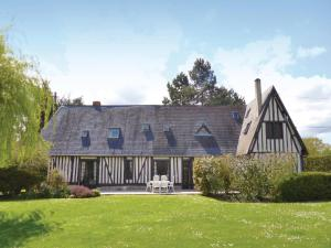 Holiday Home St Ouen d Thouberville with Fireplace I