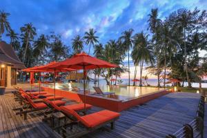 Koh Kood Paradise Beach, Üdülőtelepek  Kut-sziget - big - 78