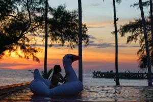 Koh Kood Paradise Beach, Üdülőtelepek  Kut-sziget - big - 110
