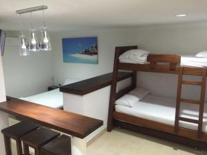 Cabañas La Fragata, Aparthotely  Coveñas - big - 2