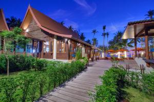 Koh Kood Paradise Beach, Üdülőtelepek  Kut-sziget - big - 117