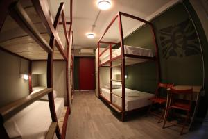 Bed in 6-Bed Mixed Dormitory Room Stay Hybrid Hostel