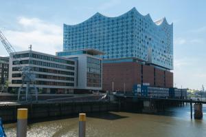 Gästezimmer an der Elbphilharmonie - Hamburg