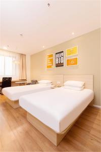 Hanting Hotel Bozhou Mengcheng, Szállodák  Csuangcsou - big - 55