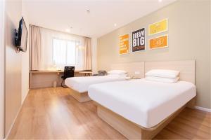 Hanting Hotel Bozhou Mengcheng, Szállodák  Csuangcsou - big - 54