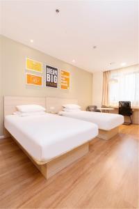 Hanting Hotel Bozhou Mengcheng, Szállodák  Csuangcsou - big - 51
