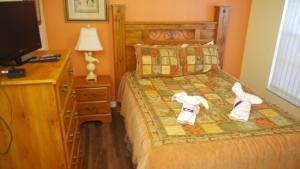 Four-Bedroom Rocco Villa, Виллы  Орландо - big - 52