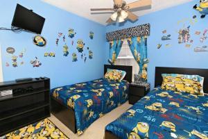 Four-Bedroom Audez Tropical Villa, Ville  Orlando - big - 3