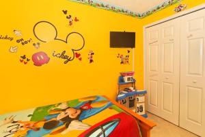 Four-Bedroom Audez Tropical Villa, Виллы  Орландо - big - 18
