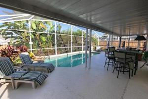 Four-Bedroom Audez Tropical Villa, Виллы  Орландо - big - 30