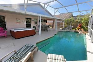 Four-Bedroom Audez Tropical Villa, Виллы  Орландо - big - 31