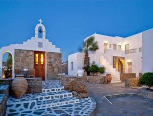 San Giorgio Mykonos - Design Hotels, Hotel  Paraga - big - 19