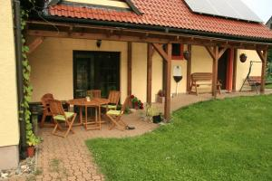 Apartmán Taneček - malý apartmán u rodinného domu Stvolínky Česko
