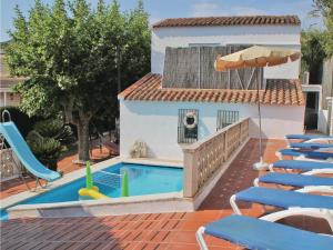 obrázek - Three-Bedroom Holiday home Calella with an Outdoor Swimming Pool 08