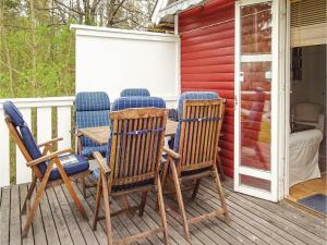 Three-Bedroom Holiday Home in Svangsta, Holiday homes  Svängsta - big - 17