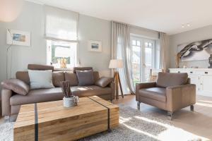 Wohnen und Mee(h)r App 1, Apartmanok  Wenningstedt - big - 7