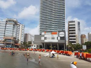 Morros City - Frente al mar, Apartmány  Cartagena - big - 9