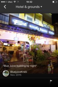 Blue Juice - Ban Nua Khlong