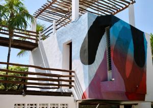 Residencia Gorila, Apartmanhotelek  Tulum - big - 94