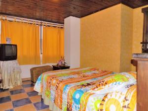 Hotel Casa Colonial, Hotels  Santa Rosa de Cabal - big - 39
