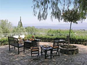 Five-Bedroom Holiday home with Sea View in Melissi Korinthos, Case vacanze  Melission - big - 27