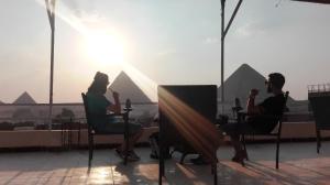 Horus Guest House Pyramids View, Hostince  Káhira - big - 96