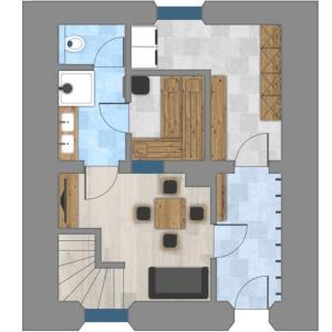 Villa Mulin, Dovolenkové domy  Ladis - big - 13