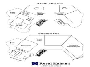 Royal Kahana 410, Дома для отпуска  Кахана - big - 107