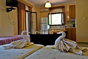 Roula Rooms, Апартаменты  Стратонион - big - 5