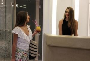 Spiros, Apartmánové hotely  Naxos Chora - big - 155