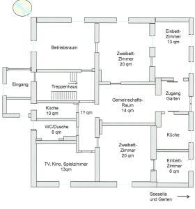 Villa Martha _Ferien_Appartements, Ferienwohnungen  Sassnitz - big - 17