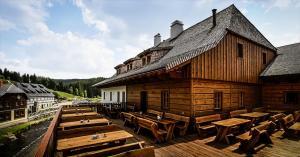 Penzion Pivovar Lyer Modrava Česko