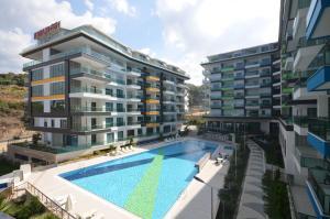 Konak Seaside Resort, Apartmanok  Alanya - big - 150