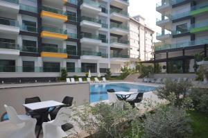 Konak Seaside Resort, Apartmanok  Alanya - big - 144