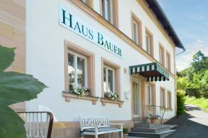 Hotel Hotel Haus Bauer Bad Berneck im Fichtelgebirge Německo