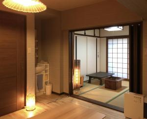 guesthouse KIWA, Penzióny  Kjóto - big - 10