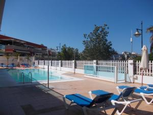 Golden Beach appartement met Pool, Appartamenti  Puerto de Mogán - big - 21