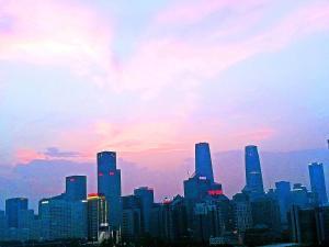 CBD Apple Community, Апартаменты  Пекин - big - 12