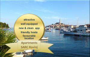 Apartments Sarc Rovinj, Apartments  Rovinj - big - 1
