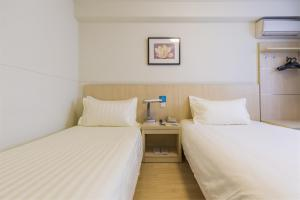 Twin Room A Jinjiang Inn Style Xinyang Dongfanghong Avenue Culture Center