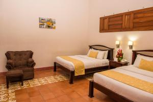 Superior Twin Room with Garden View Hotel Real La Merced