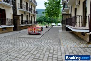 Apartment Porto Heli, Апартаменты  Кабардинка - big - 25