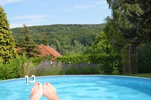 Villa Sonnenseite Jonsdorf - Hinterer Viehbig