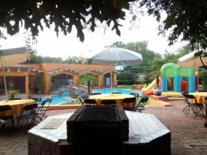 Casa Quinta Cobos, Priváty  Tequisquiapan - big - 28
