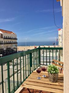 Apartamento com vista mar (a 1 minuto da praia) Nazaré