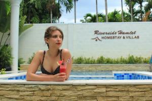 Riverside Hamlet Homestay & Villa, Penzióny  Hoi An - big - 73